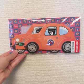 ミキハウス(mikihouse)のミキハウス mikihouse 多目的祝いカード メッセージカード 車 クマ(その他)