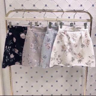 evelyn - 花柄台形スカート