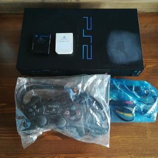 プレイステーション2(PlayStation2)のプレイステーション2 メモリーカードソフト付き(家庭用ゲーム本体)