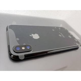 iPhone X スペースグレイ 256gb SIM解除 美品