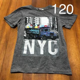 H&M - H&M キッズ NYC半袖Tシャツ 120サイズ