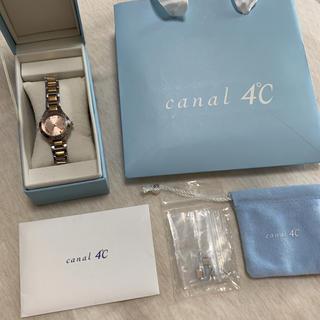カナルヨンドシー(canal4℃)のカナル4°C レディース 腕時計(腕時計)