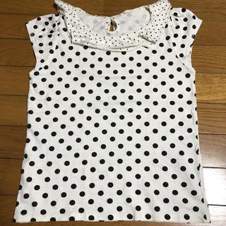 ジーユー(GU)のジーユー 水玉 カットソー 150(Tシャツ/カットソー)