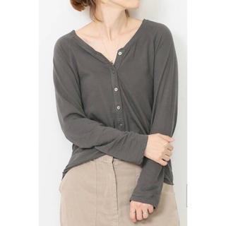 DEUXIEME CLASSE - ドゥーズィエムクラス   Henly Long Tシャツ