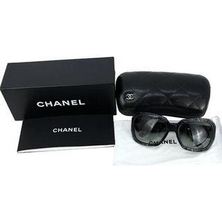 シャネル(CHANEL)のシャネル サングラス ココマーク CC ネイビー ブラック(サングラス/メガネ)