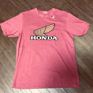 ジーユー(GU)のGU×HONDA ホンダ コラボTシャツ 新品未使用 サイズM(Tシャツ/カットソー(半袖/袖なし))