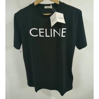 セリーヌ(celine)の美品Celine 売れ上げ T-シャツ ブラック S (Tシャツ(半袖/袖なし))