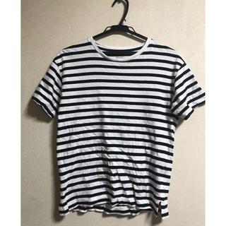 ジーユー(GU)のボーダー Tシャツ(Tシャツ(半袖/袖なし))