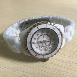 CHANEL - 超人気 金色 腕時計 男女兼用