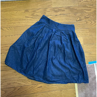 ジーユー(GU)のデニム スカート ユニクロ gu (ひざ丈スカート)