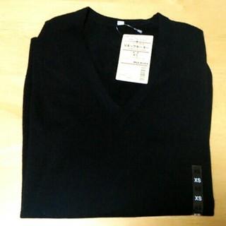 ムジルシリョウヒン(MUJI (無印良品))の【未使用】無印良品 Vネックセーター XS(ニット/セーター)