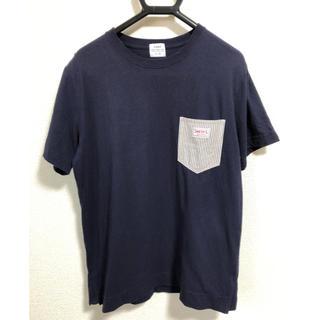 coen - coen  SMITH別注ポケットTシャツ L ネイビー
