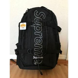 Supreme - Supreme 18aw backpack 黒