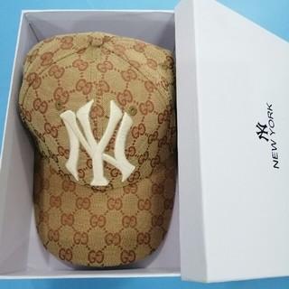 グッチ(Gucci)の美品 グッチ  帽子  野球帽 (キャップ)