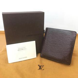 ルイヴィトン(LOUIS VUITTON)の美品 ルイヴィトン エピ 財布(折り財布)