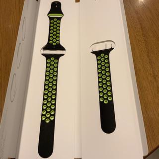 Apple Watch - (美品) Apple Watch 38mm NIKE スポーツバンド