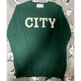 ハレ(HARE)のHARE 「CITY」ニット 緑  M(ニット/セーター)