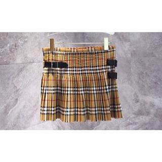 バーバリー(BURBERRY)のBurberry 19ss クラシックチェック柄プリーツスカートミニスカート(ミニスカート)