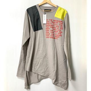 ミルクボーイ(MILKBOY)の【H】18SS ミルクボーイ 変形デザイン ロングTシャツ フリー(Tシャツ/カットソー(七分/長袖))
