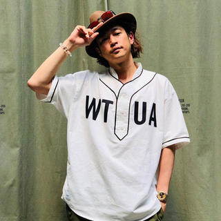 W)taps - 窪塚着用 WTAPS LEAGUE SS SHIRT 19SS
