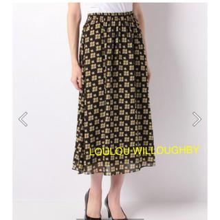 アナイ(ANAYI)のちるちゃん様専用 LOULOU WILLOUGHBY フラワーギャザースカート(ロングスカート)