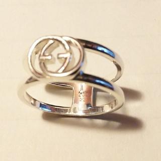 グッチ(Gucci)のGUCCI シルバーロッキングG リング 指輪(リング(指輪))