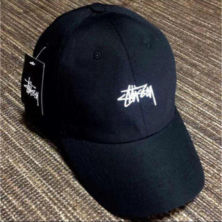 STUSSY - 新品、大人気のステューシーキャップ  (他色あり)