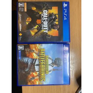 PlayStation4 - cod bo4&pubg ps4