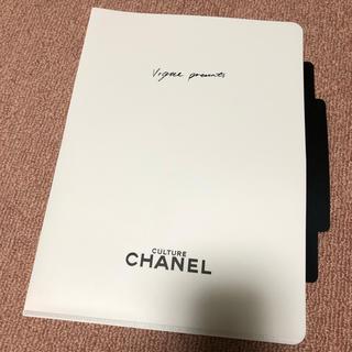 シャネル(CHANEL)のシャネル CHANEL  クリアファイル A4サイズ   未使用新品(ファイル/バインダー)