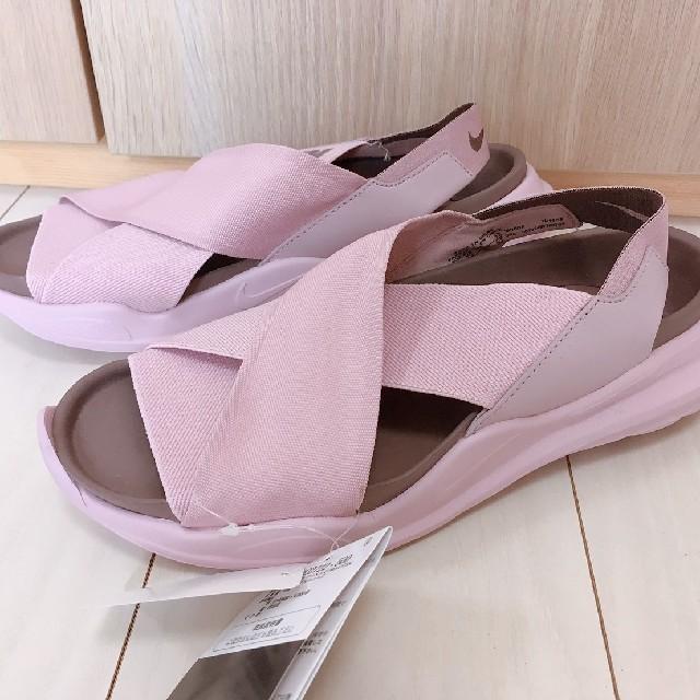 NIKE(ナイキ)の大人気ナイキNIKEプラクティスク♡ピンクサンダル24 レディースの靴/シューズ(サンダル)の商品写真