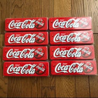 コカコーラ(コカ・コーラ)のコカコーラ 缶ケース(ノベルティグッズ)