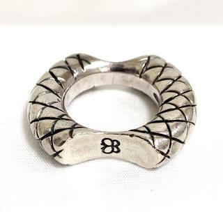 Bottega Veneta - ボッテガヴェネタ イントレチャート シルバー リング 指輪