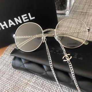シャネル(CHANEL)のフルセット‼️CHANEL✰︎シャネル✨メガネ🎀フレーム チェーン付き(サングラス/メガネ)