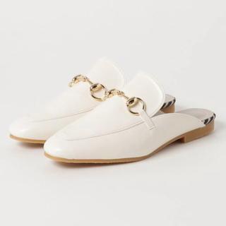 エスペランサ(ESPERANZA)のESPERANZA ビット付きバブーシュ(ローファー/革靴)