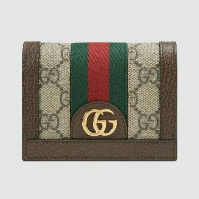 brand new dedf4 a7269 Gucci GG 2つ折りミニ財布 男女兼用 | フリマアプリ ラクマ