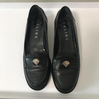 セリーヌ(celine)の「値下げ」セリーヌ ブラック ローファー 36 1/2(ローファー/革靴)