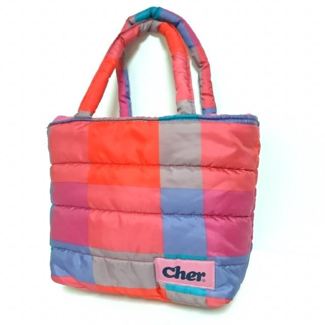 Cher(シェル)のcher ミニトート レディースのバッグ(トートバッグ)の商品写真