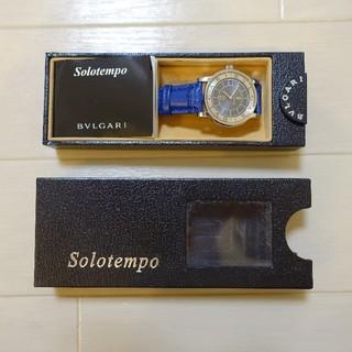 ブルガリ(BVLGARI)の■BVLGARI ブルガリ・ソロテンポJAL機内限定品ブルー■(腕時計(アナログ))