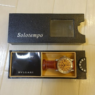 ブルガリ(BVLGARI)の■BVLGARI ブルガリ・ソロテンポJAL機内限定品ピンクゴールド■(腕時計(アナログ))