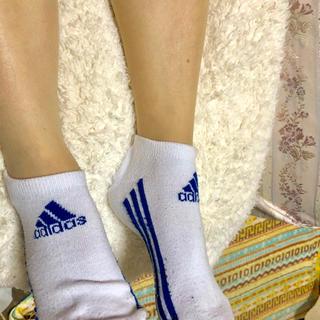 アディダス(adidas)の【アディダス レディース ショートソックス】★値下げ★(ソックス)
