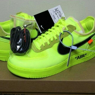OFF-WHITE - NIKE THE TEN AIR FORCE 1 LOW  27.5CM