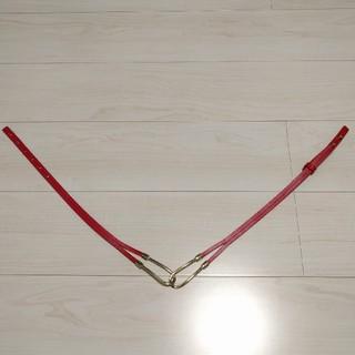 ナチュラルビューティーベーシック(NATURAL BEAUTY BASIC)のNATURAL BEAUTY BASIC 赤ベルト(ベルト)