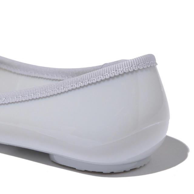 Adam et Rope'(アダムエロぺ)のアダム エ ロペ レインシューズ グレー 22cm レディースの靴/シューズ(ハイヒール/パンプス)の商品写真
