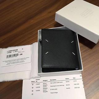 マルタンマルジェラ(Maison Martin Margiela)の新品正規品 Maison Margiela メゾンマルジェラ 二つ折り財布(折り財布)