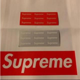 Supreme - suprem  シュプリーム リフレクター 3M ステッカー シール セット