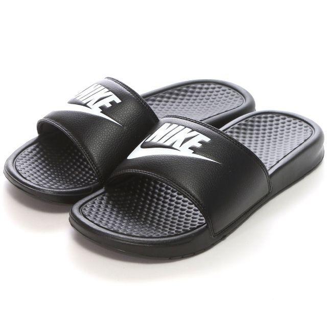 NIKE(ナイキ)のナイキ NIKE サンダル ベナッシ ブラック メンズの靴/シューズ(サンダル)の商品写真