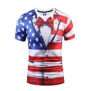 メンズtシャツ  アメリカ国旗