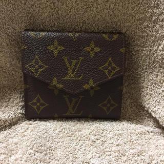 ルイヴィトン(LOUIS VUITTON)のルイヴィトンWホック財布モノグラム(折り財布)