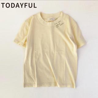TODAYFUL - TODAYFUL トゥデイフル エンブロイダリーTシャツ