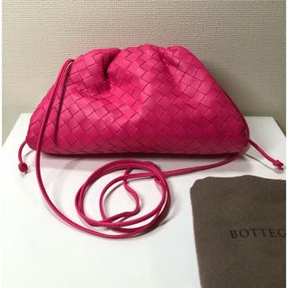 Bottega Veneta - 美品 BOTTEGA VENETA ザ ポーチ ミニ ピンク ボッテガ べネタ